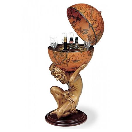 historic bar globe 'atlas'