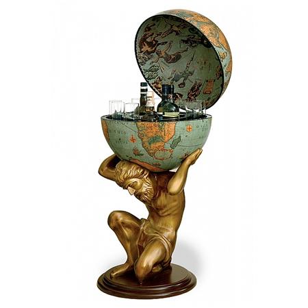 Laguna Bar Globe Atlas Bar Globes