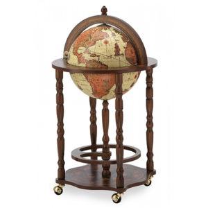 Bar Globe with bottle storage Safari