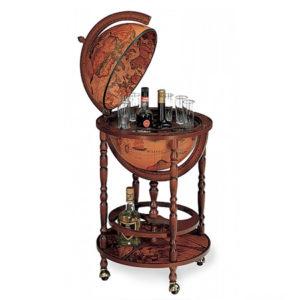 Bar Globe with wheels