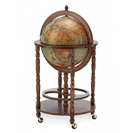 Laguna bar globe with wheels - Bar Globes – Beautiful Drinks Cabinets Since 1949