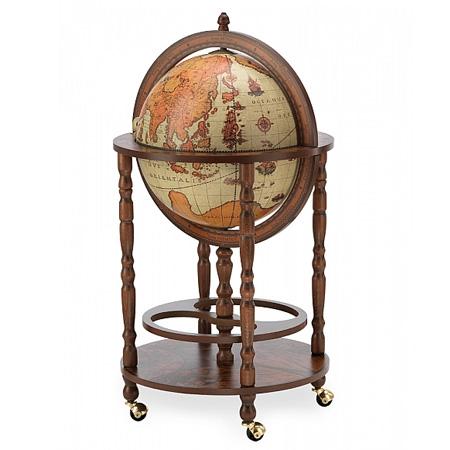 Bar Globe with wheels Safari