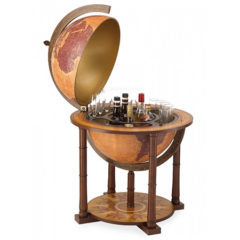 Bar globe Gea with large internal storage