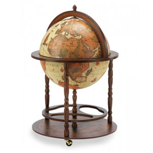 Classic bar globe medium size Safari