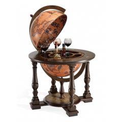 Floor-standing bar globe