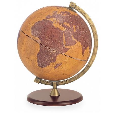 home map modern earth decor globe wedding desk ad or world mens perfect spinning atlas gift