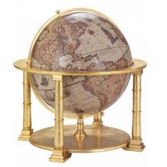 Great wooden globe