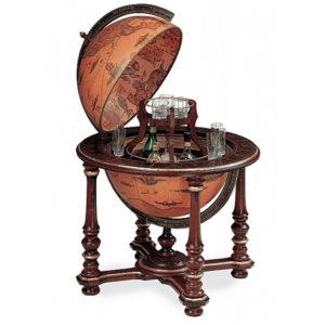 Large bar Globe with classic Zoffoli design