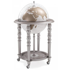 Bar globe Elegance Grey with White Globe
