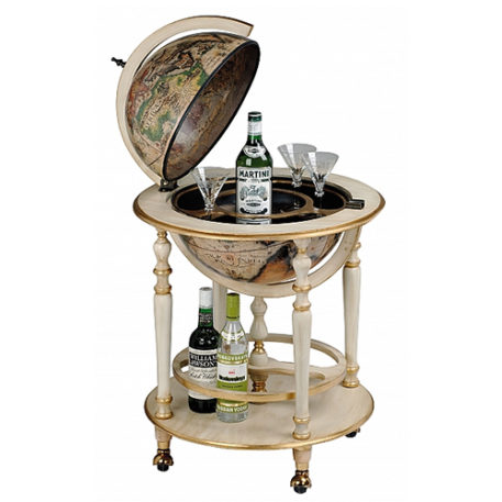 Avorio bar globe