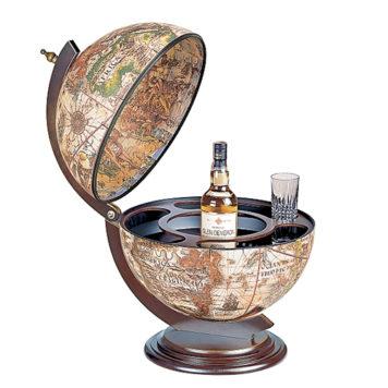 Sfera 42 desk bar globe